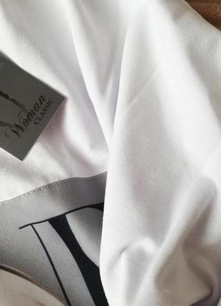 Платье-футболка 2 цвета, платье мини, платье-туника, платье с принтом (арт 100404)8 фото