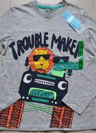 Реглан кофта футболка pepco мальчику хлопчику