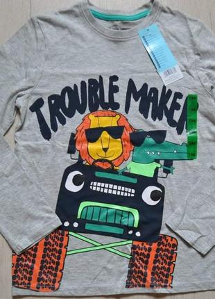 Реглан кофта футболка pepco мальчику хлопчику2 фото