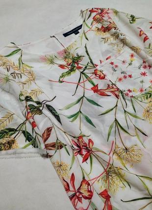 Блузка в цветочный принт блуза кофточка french connection топ футболка