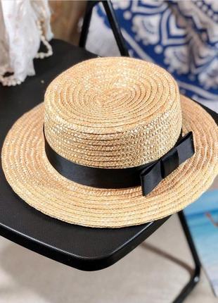 ❤❤соломенная шляпа канотье солнцезащитная