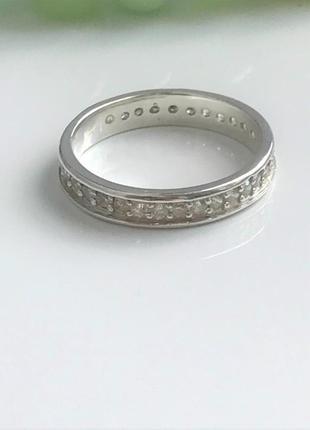 Кольцо серебряное бритни 1197