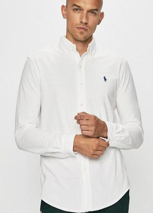Мужская рубашка ralph lauren ;  размер l