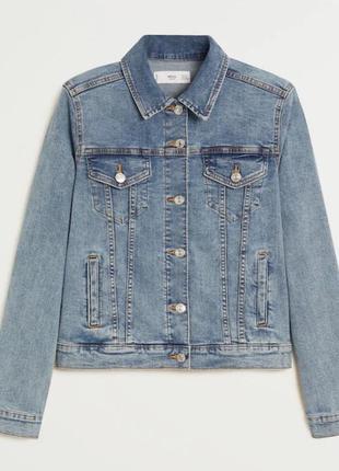Новая джинсовая курточка mango m