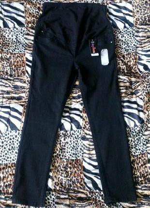 Новые стрейчевые джинсы скини для беременных georg на наш  50-52, 54.