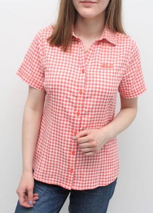 Женская рубашка на короткий рукав jack wolfskin