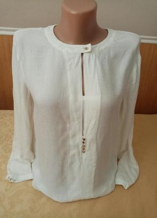 Белая блузка біла блузочка блуза