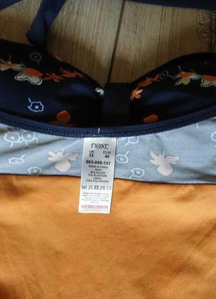 Купальник сдельный некст next с драпировкой и утяжкой eur 40 uk 123 фото