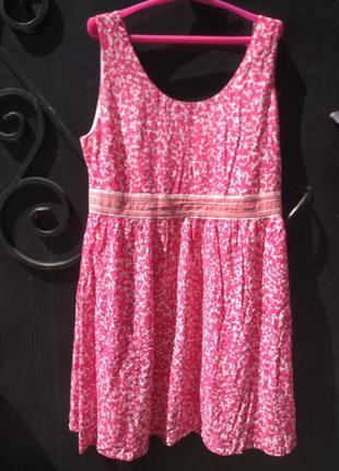 Стильное платье из вискозы dotted sporty dress