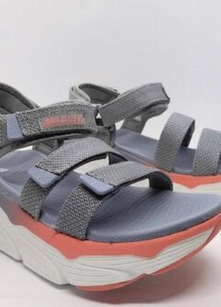 Суперские удобные сандалии босоножки skechers max cushioning ultra go comfort оригинал