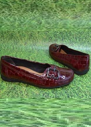 Gabor германия оригинал натуральная кожа туфли мокасины повышенного комфорта 1000пар тут!