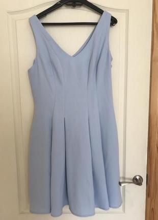 Сарафан красивый платье голубое
