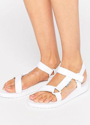 Vero moda легкие белые босоножки сандалии
