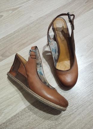 Акция 1+1=3🤑🤩 италия!брендовые туфли на танкетке,рогожка venezia натуральная кожа