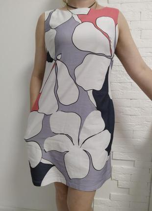 Платье цветы gaja