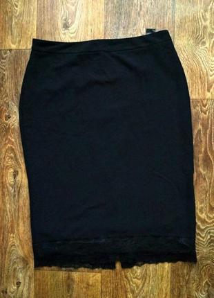 Поделиться:  красивая юбка-карандаш/миди с гипюром