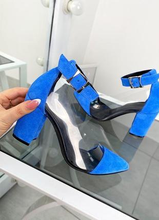Туфли на каблуке с силиконовой вставкой