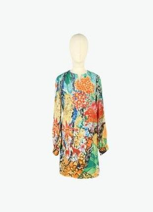 Дизайнерское шелковое платье от tsumori chisato, t3