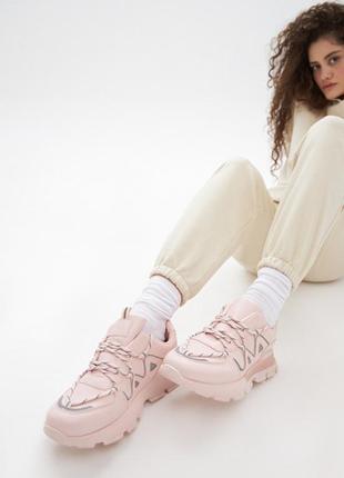 Кроссовки женские фиона, цвет розовый