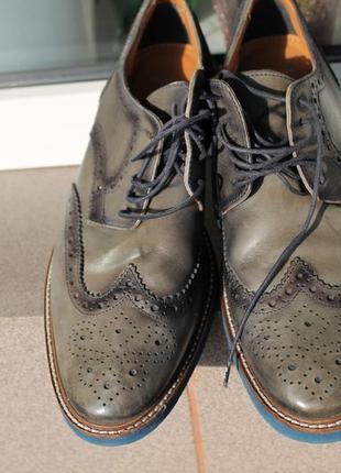 Шкіряні туфлі від  бренду вата