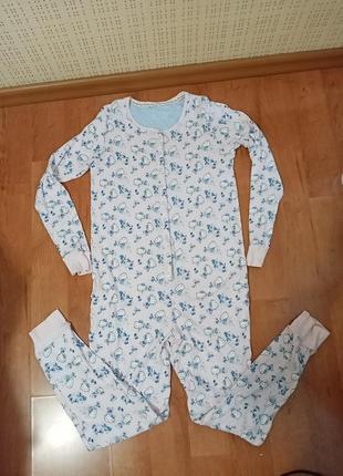 Пижама-человечек на девочку 13-14лет.