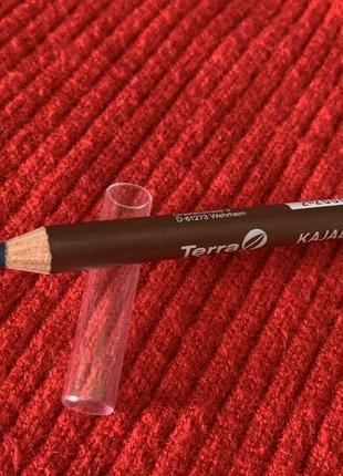 Олівець для очей, карандаш для глаз, темно синий карандаш.