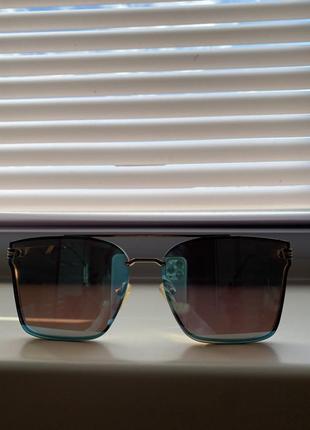 Зеркальные очки)солнцезащитные очки)очки 😎