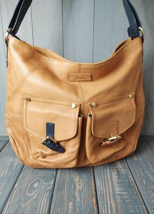 Дуже крута шкіряна фірмова сумка