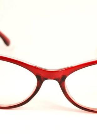 Стильные имиджевые очки с диопт.