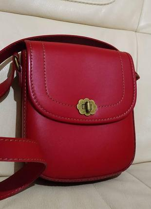 Фирменная сумка cath kidston. кожа новая
