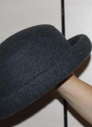 Стильная шляпа , шляпка , фетровая  h&m