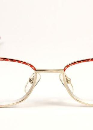 Модные имиджевые очки с диоптриями тонированные с диоптр.