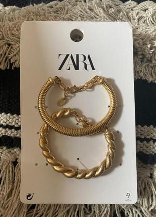 Новые боаслеты zara