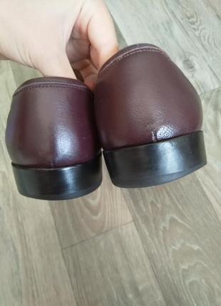 Кожаные туфли италия2 фото