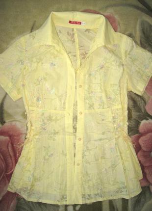 Рубашка женская, р. 44-46 как новая!