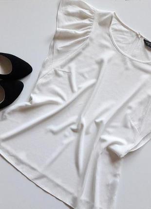 Белая милая блуза...