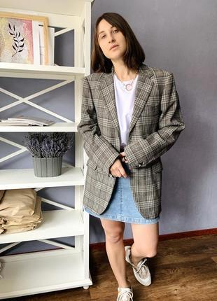 Трендовый винтажный оверсайз пиджак/жакет от dyckhoff
