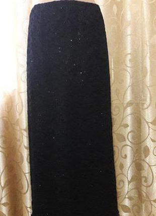 Красивая женская длинная юбка батального размера etam