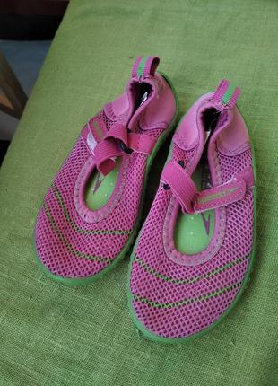 Фирменные аквашузы коралки / обувь для плавания / аквашузи взуття для плавання