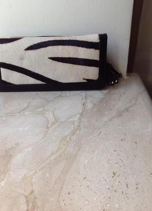Гаманець шкіряний з нової колекції  бренду marks&spencer autograph leather purse кошелёк