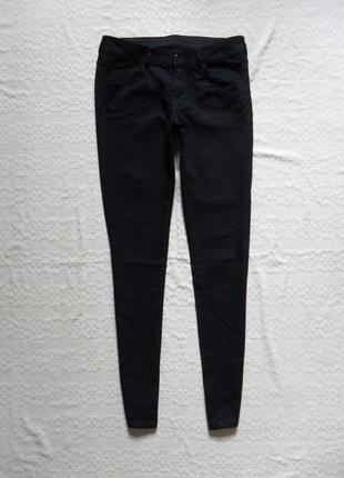 Брендовые черные джинсы скинни h&m, 12 размера.