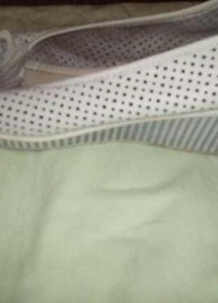 Кожаные легкие летние туфли р.40 на широкую ногу