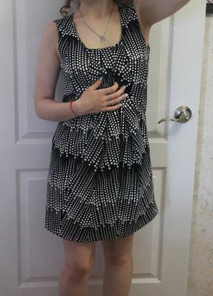 Супер платье в горошек)