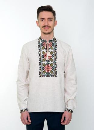 Сіра чоловіча сорочка