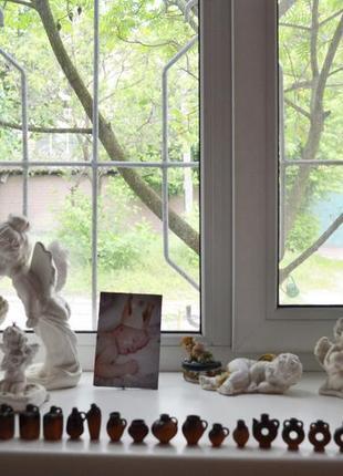 Кувшины глиняные маленькие статуэтки декор