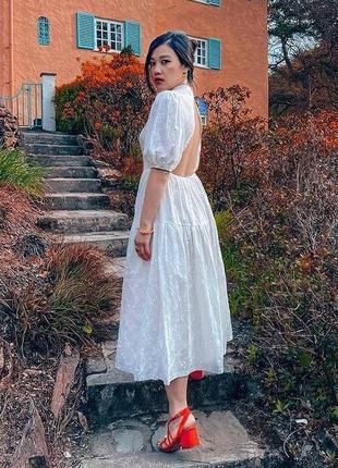 Платье zara прошва