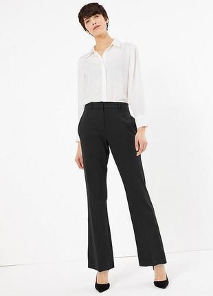 Стильные базовые легкие брюки в полоску new look