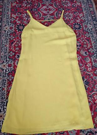 Новое яркое солнечное легусенькое платье сарафан