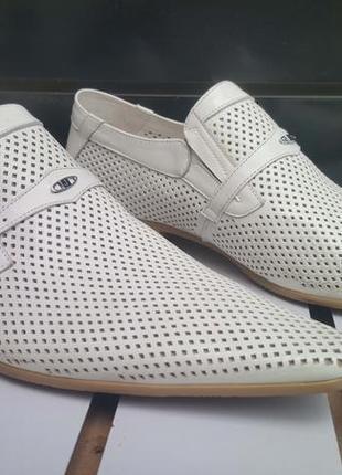 Туфли мужские из натуральной кожи brooman mk68