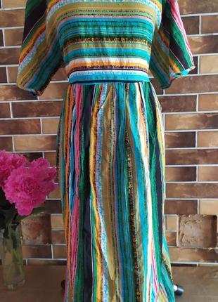 Платье штапель 50 52 54